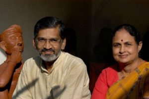 Dr Abhay Bang & his wife Dr Rani Bang