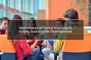Social learning and sustainable development