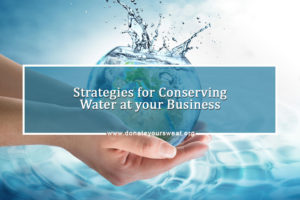Conserving water at your business